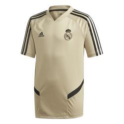 Maillot entraînement junior Real Madrid or noir 2019/20