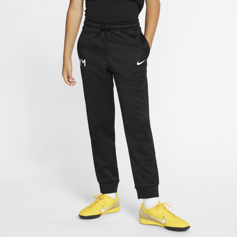 Pantalon survêtement junior Mbappé noir 2019/20