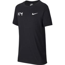 T-shirt junior KM noir 2019/20