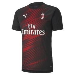 Maillot entraînement Milan AC noir rouge 2019/20