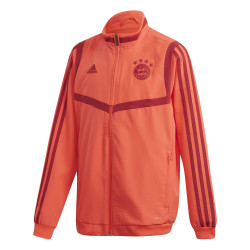 Veste survêtement junior Bayern Munich rouge 2019/20