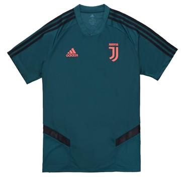 Maillot entraînement junior Juventus vert rose 2019/20