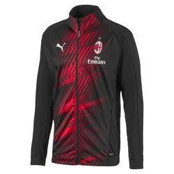 Veste entraînement Milan AC noir rouge 2019/20