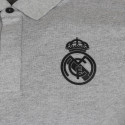 Polo Real Madrid gris 2019/20