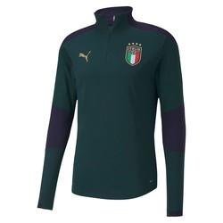 Sweat zippé Italie vert 2020