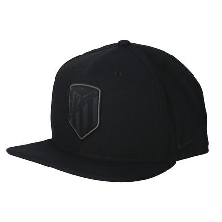 Casquette visière plate Atlético Madrid noir 2019/20