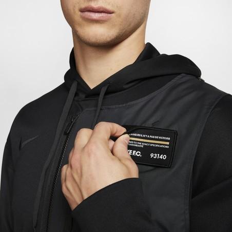 Sweat à capuche Nike Mbappé Bondy noir 2019/20