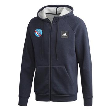 Veste survêtement RC Strasbourg bleu foncé 2019/20