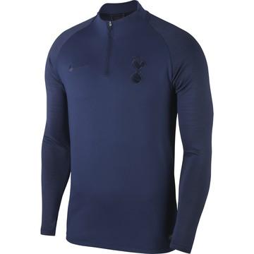 Sweat zippé Tottenham bleu foncé 2019/20