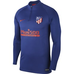Sweat zippé Atlético Madrid bleu rouge 2019/20