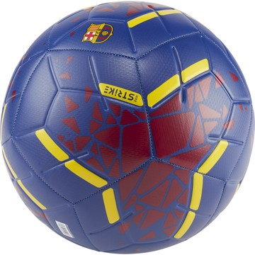 Ballon FC Barcelone Strike bleu rouge 2019/20