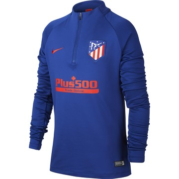 Sweat zippé junior Atlético Madrid bleu rouge 2019/20