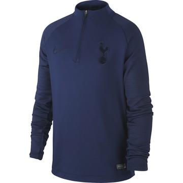 Sweat zippé junior Tottenham bleu foncé 2019/20