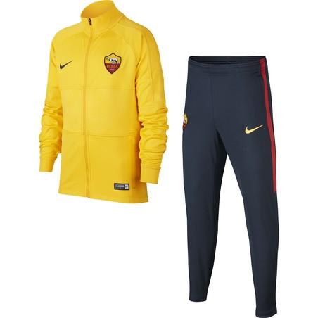 Ensemble survêtement junior AS Roma jaune 2019/20
