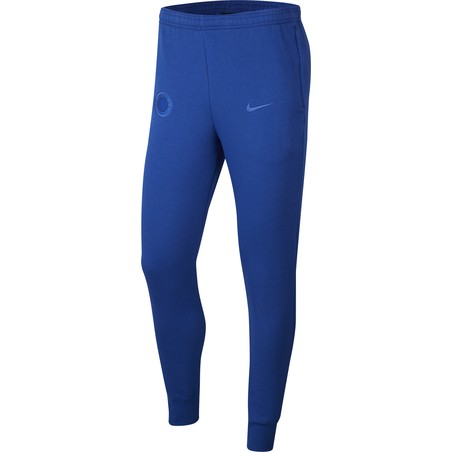 Pantalon survêtement Chelsea GFA Fleece bleu 2019/20