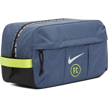 Sac à chaussures Nike F.C. bleu vert 2019/20