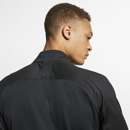 Sweat zippé Nike Academy noir 2019/20