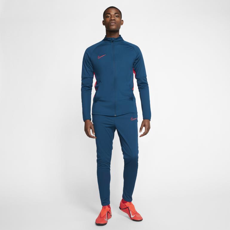 Ensemble survêtement Nike Academy bleu rouge 201920
