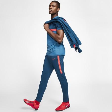 Ensemble survêtement Nike Academy bleu rouge 2019/20