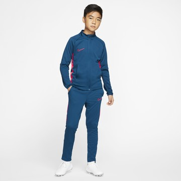 Ensemble survêtement junior Nike Academy bleu rouge 2019/20
