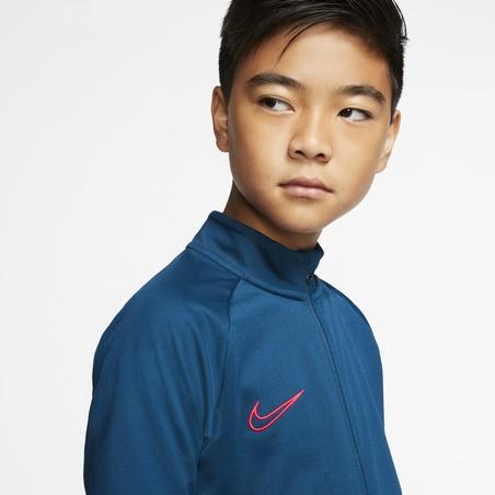 Ensemble survêtement junior Nike Academy bleu rouge 2019/20