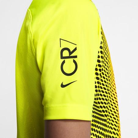 Maillot entraînement junior CR7 jaune 2019/20