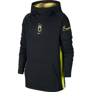 Sweat junior CR7 noir jaune 2019/20