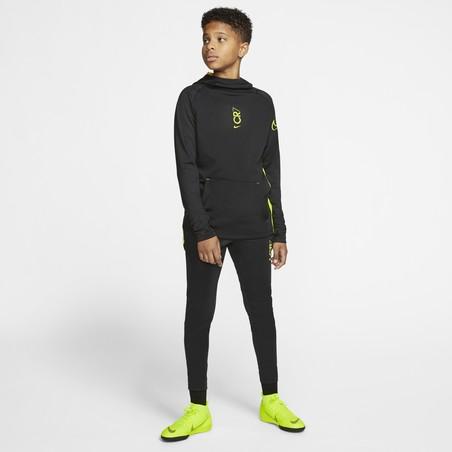 Sweat junior CR7 noir jaune 2019/20