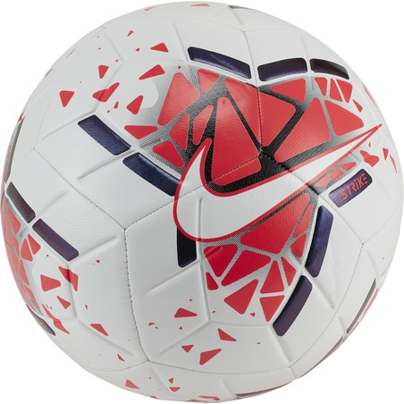 Ballon Nike Strike rouge blanc 2019/20