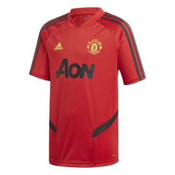 Maillot entraînement junior Manchester United rouge 2019/20