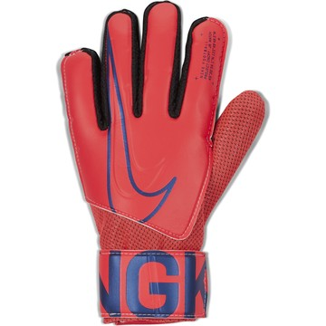 Gants gardien junior Nike rouge 2019/20