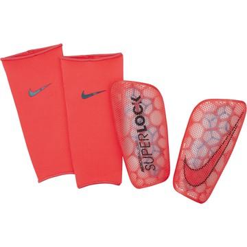 Protège tibias Nike Flylite rouge 2019/20