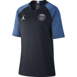 Maillot entraînement junior PSG Jordan noir bleu 2019/20