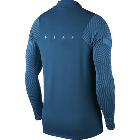 Sweat zippé Nike Strike bleu foncé 2019/20