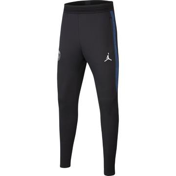 Pantalon survêtement junior PSG Jordan noir bleu 2019/20