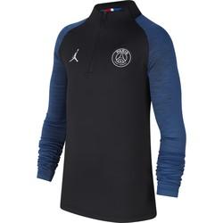 Sweat zippé junior PSG Jordan noir bleu 2019/20