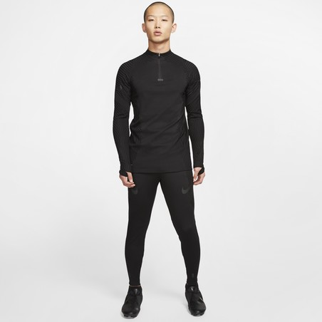 Sweat zippé Nike VaporKnit noir 2019/20