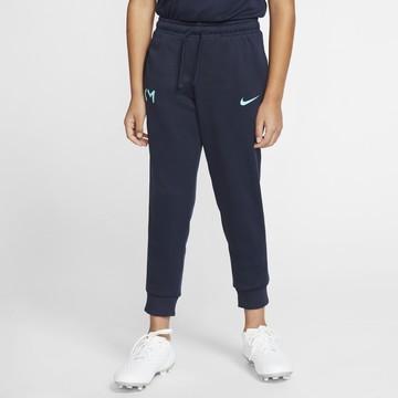 Pantalon survêtement junior Mbappé bleu 2019/20