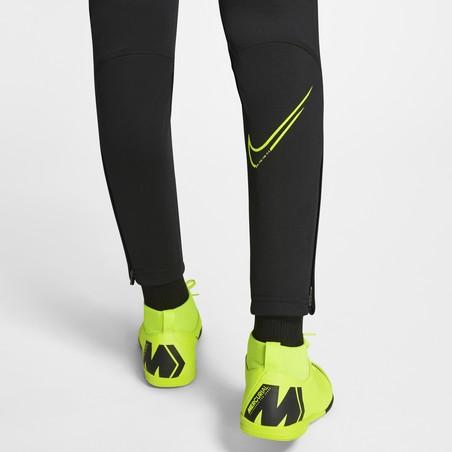 Pantalon survêtement junior Nike CR7 noir jaune 2019/20