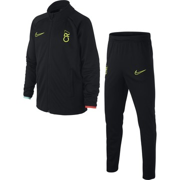 Ensemble survêtement junior CR7 noir jaune 2019/20