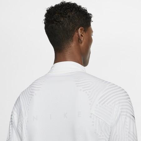 Sweat zippé Nike VaporKnit blanc 2019/20