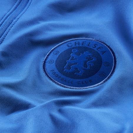 Sweat zippé Chelsea bleu 2019/20