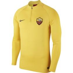 Sweat zippé AS Roma jaune 2019/20