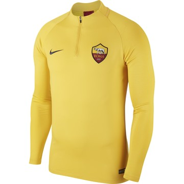 Sweat zippé AS Roma jaune 2019/20
