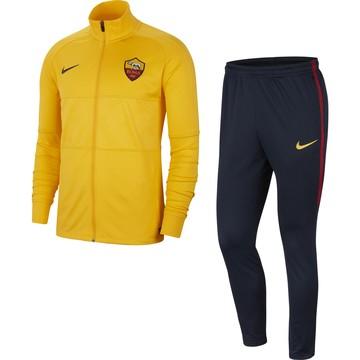 Ensemble survêtement AS Roma jaune noir 2019/20