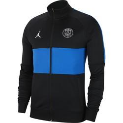 Veste survêtement PSG Jordan noir bleu 2019/20