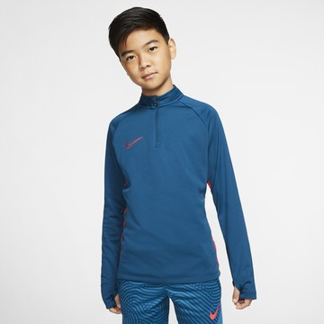 Sweat zippé junior Nike bleu rouge 2019/20