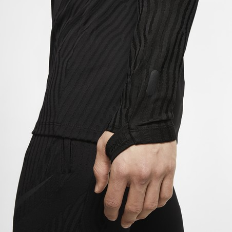 Sweat zippé Nike VaporKnit Strike noir 2019/20