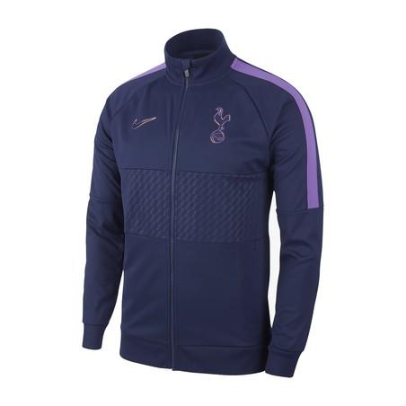 Veste survêtement Tottenham I96 bleu violet 2019/20