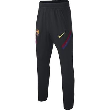Pantalon survêtement junior FC Barcelone Strike noir 2019/20